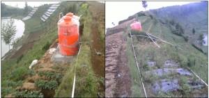 Tandon Air dan Jaringan Pipa Distribusi Air